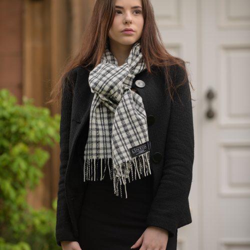 Luxury Tweed Fabric Scarves