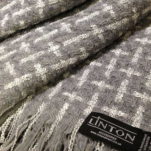 Luxury Tweed Fabric Throws